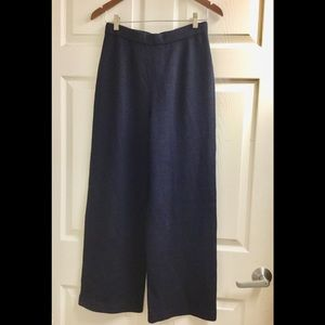 St. John Santana Navy knit pants size 6